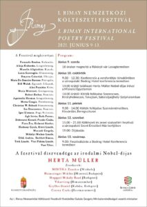 programma del Rimay Festival 2021